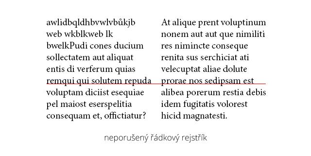 Jan Konečný - Typografie #2 - Neporušený řádkový rejstřík