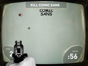 Kill Comic Sans