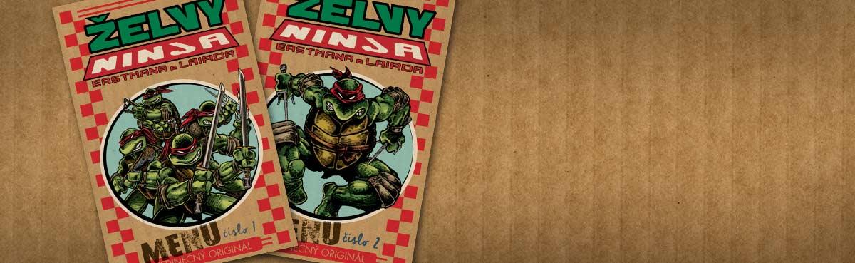 Želvy Ninja: Menu číslo 1 a 2 [náhledový obrázek]
