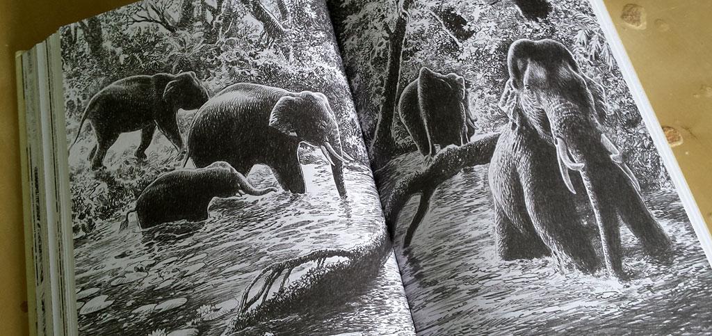 Jaroslav Vrána, František Lopour - Mluvící hora - ilustrace